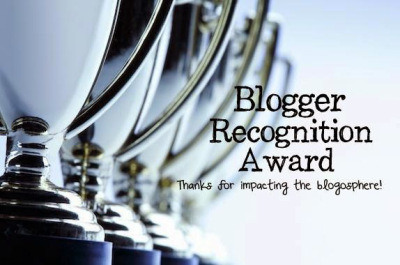 [TAG] Blogger recognition Award