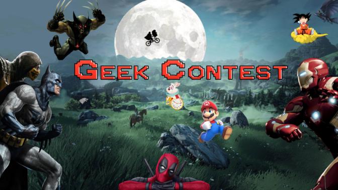 Geek Contest n°1 : J'ai pas le temps, mon esprit…
